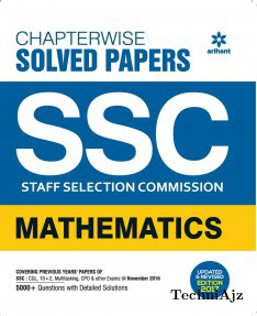 Chapterwise Solved Papers Ssc Staff Selection Commission Mathematics 2017(Paperback)