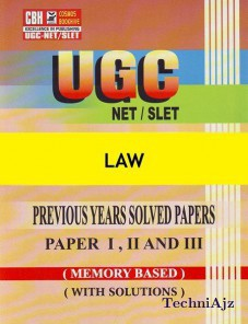Law Previous Years Solved Papers For Ugc- Net- Slet Paper- 1- 2- 3 (Paperback)(Paperback)
