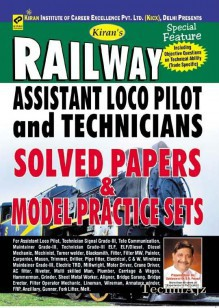Railway Assistant Loco Pilot and Technicians Solved Paper & Model Practice sets(Paperback)