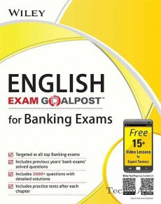 Wiley's English, Exam Goalpost, for Banking Exams(Paperback)