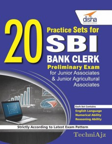 20 Practice Sets for SBI Bank Clerk Preliminary Exam(Paperback)