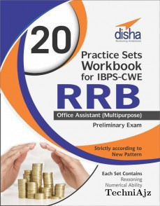 20 Practice Sets Workbook for IBPS-CWE RRB Office Assistant (Multipurpose) Preliminary Exam(Paperback)