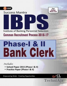 IBPS Bank Clerk Phase I Guide 2016(Paperback)