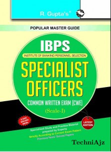 Bank- Specialist Officers Common Written Exam (CWE) Guide(Paperback)