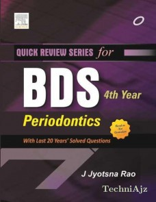Quick Review Series for BDS 4th Year: Periodontics(Paperback)