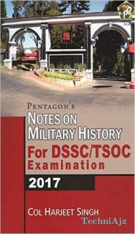 Notes On Military History For Part Dssc/Tsoc Exmination- 2017(Paperback)