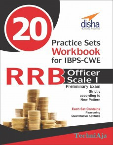 20 Practice Sets Workbook for IBPS- CWE RRB Officer Scale 1 Preliminary Exam(Paperback)