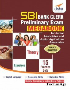 SBI Bank Clerk Preliminary Exam MegaBook- (Guide+ 15 Practice Sets)(Paperback)