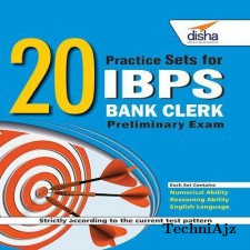 20 Practice Sets for IBPS Bank Clerk Preliminary Exam(Paperback)