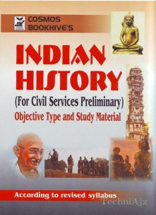 Indian History For Civil Services Preliminary Objective Type & Study Material (Paperback)(Paperback)