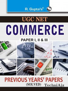 CBSE- UGC- NET- Commerce Previous Papers (Solved)(Paperback)