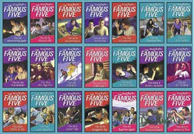 Famous Five 21 copy box set INDIA(Paperback)