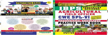 Kiran S Ibps Specialist Officers Agricultural Field Officer Cwe Spl- Vi Practice Work Book(Paperback)