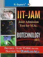 IIT- JAM M. Sc. (Biotechnology) Previous Papers (Solved)(Paperback)