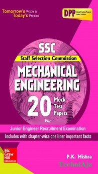 SSC Mechanical Engineering 20 Mock Test Papers(Paperback)