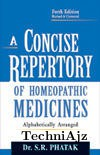 A Concise Repertory Of Homoeopathic Medicines(Paperback)