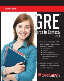 GRE Words in Context: List 1(Paperback)