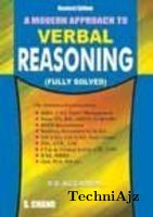 A Modern Approach To Verbal Reasoning(Paperback)
