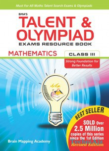 BMA's Talent & Olympiad Exams Resource Book for class- 3 (Mathematics)(Paperback)
