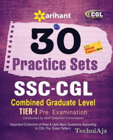 30 Practice Sets SSC Combined Graduate Level Pre. Examination(Paperback)