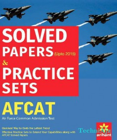 AFCAT (Air Force Common Admission Test) Solved Papers & Practice Sets(Paperback)