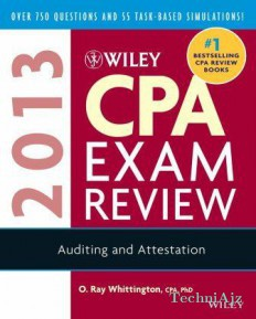 Wiley CPA Exam Review 2013: Auditing And Attestation(Paperback)