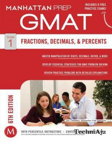 Fractions, Decimals, & Percents GMAT Strategy Guide, 6th Edition(Paperback)