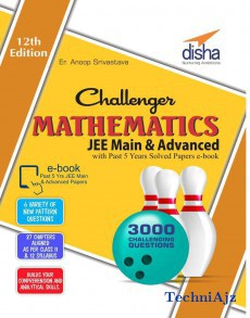 Challenger Mathematics for JEE Main & Advanced with past 5 years Solved Papers ebook(Paperback)