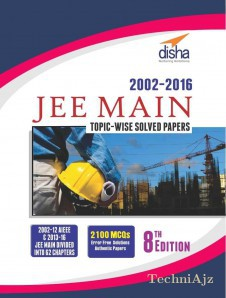JEE MAIN Topic- wise Solved Papers (2002- 16)(Paperback)
