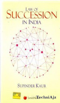 Law of Succession in India(Paperback)