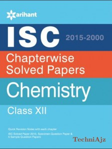 ISC Chapterwise Solved Papers CHEMISTRY class 12th(Paperback)