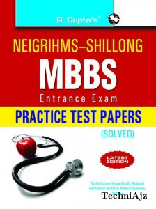 NEIGRIHMS MBBS Entrance Exam Practice Test Papers (Solved)(Paperback)