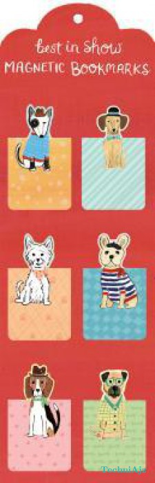 Best in Show Magnetic Bookmarks(Hardcover)