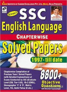 SSC English Language Chapterwise Solved Papers 8800+ Objective Questions - English - 1613