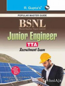BSNL JE (Jr Engineer) TTA (Telecom Technical Assistants) Recruitment Examination Guide  (RPH Editorial Board)