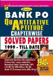 Bank PO Quantitative Aptitude Chapterwise Solved Papers 1999 - Till Date