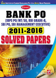 Kiran's Bank PO 2011- 2016 Solved Papers- English(Paperback)