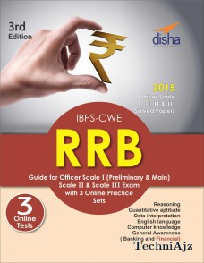 IBPS- CWE RRB Guide for Officer Scale 1 (Preliminary & Mains) , 2 & 3 Exam with 3 Online Practice Sets(Paperback)