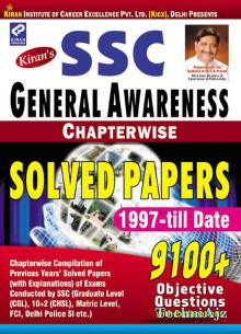 Kiran's SSC General Awareness Chapter wise Solved Papers English(Paperback)