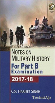 Notes On Military History For Part B Examination 2017- 18(Paperback)