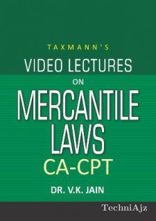 Video Lectures On Mercantile Laws (Set Of 2 Dvds)(Audio Book)