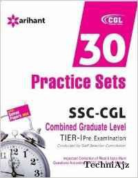 SSC Combined Graduate Level Tier-1 Pre. Examination - 30 Practice Sets