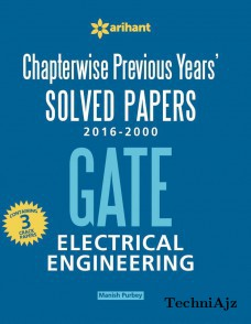 Chapterwise Previous Years' Solved Papers (2016- 2000) GATE Electrical Engineering(Paperback)