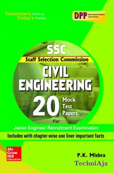 SSC Civil Engineering 20 Mock Test Papers(Paperback)