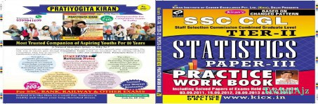 Ssc Cgl Staff Selection Commission Combined Graduate Level Tier- Ii Statistics Paprer- Iii Practice Work Book(Paperback)