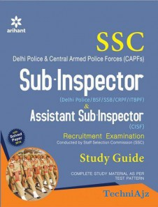SSC Sub- Inspector & Assistant Sub- Inspector Recruitment Examination Study Guide(Paperback)