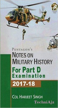 Notes On Military History For Part D Examination 2017- 18(Paperback)