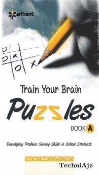 Train Your Brain Puzzles Book A(Paperback)