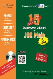 15 Years Chapterwise Solutions For Jee Main 2002- 2016 W/Cd(Paperback)