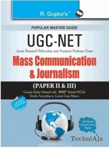 CBSE UGC NET/SET: Mass Communication and Journalism (Paper II & III) JRF and Assistant Professor Exam Guide(Paperback)